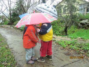 גשם- למידה חווייתית של עונת החורף