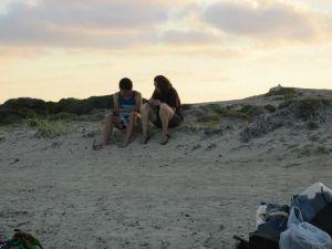 בחוף הים